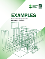 Structural Wood Design Examples, 2015/2018 Edition - (Electronic)