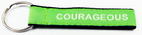 Key Strap Lime Green Courageous