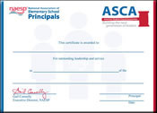 Student Certificate (pack of 10)