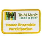 Tri-M Honor Ensemble Participation Patch