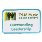 Tri-M Outstanding Leadership Patch