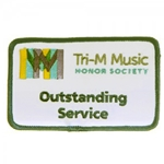 Tri-M Outstanding Service Patch